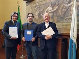 Maurizio Boiocchi, Roberto Cammarata e Gb Merigo, foto da ufficio stampa