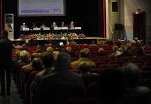 Un momento dell'assemblea della banca Bcc Agrobresciano