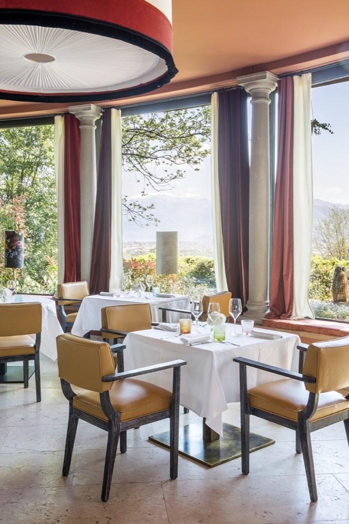 Il nuovo ristorante LeoneFelice Vista Lago dell'Albereta Relais di Erbusco, Franciacorta (foto da ufficio stampa)