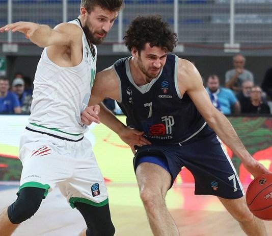 Luca Vitali,Germani Brescia Leonessa - Darussafaka Tekfen Istanbul 7DAYS EuroCup, Brescia 23 ottobre 2019. Ph Fotolive Simone Venezia