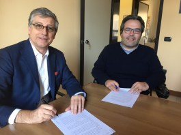 Nasce il nuovo centro NeMO di Brescia - In foto Claudio Sileo e Alberto Fontana