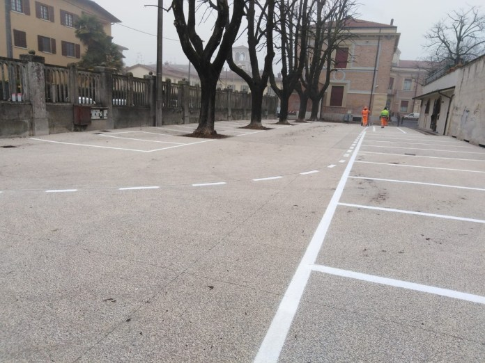 parcheggio a Ghedi