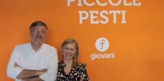Massimo Belandi e Laura Rocco di Piccole Pesti