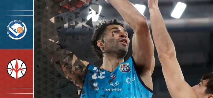 Brescia-Trieste - Foto da www.pallacanestrobrescia.it