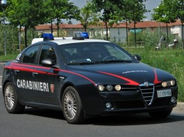 Carabinieri, foto generica, SkeLeBon, CC BY-SA 4.0 , via Wikimedia Commons