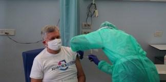 Vaccini, V-Day a Brescia, foto fonte Ats Regione