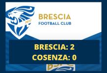 Brescia-Cosenza 2-0
