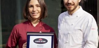 Francesco Bedussi e Sofia Natalini, vincitori della puntata bresciana di Cake Star-foto da pagina facebook ufficiale bedussi