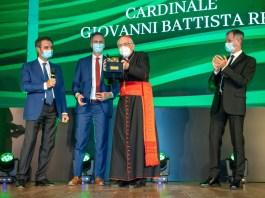 Cardinale-Re - premio rosa camuna Lombardia