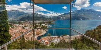L'ascensore di Riva del Garda - foto da pagina Facebook Garda Trentino