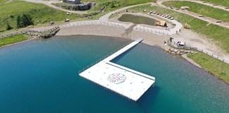 piattaforma sul lago valbiolo - foto da Ponte di Legno Tonale consorzio