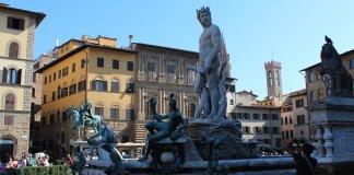 firenze, piazza della signoria - Foto di Dylan Garton da Pixabay