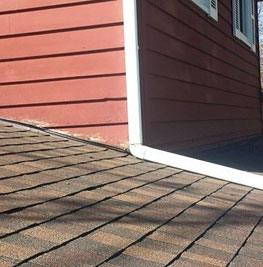picture of a new roof that was installed by best medina ohio roofing companies