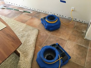 water damage restoration near wadsworth picture of drying machines in a room