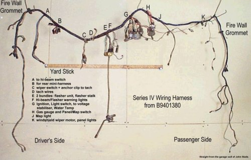 small resolution of john slade provided a series iv harness for comparison