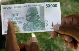 Zimbabwe's new biggest banknote is worth just alt=