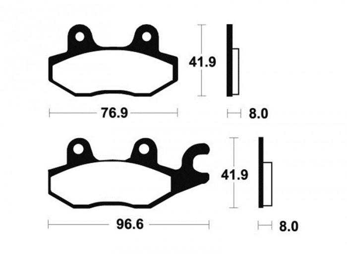 Acheter plaquette de frein Bendix MR138 sinter ou semi