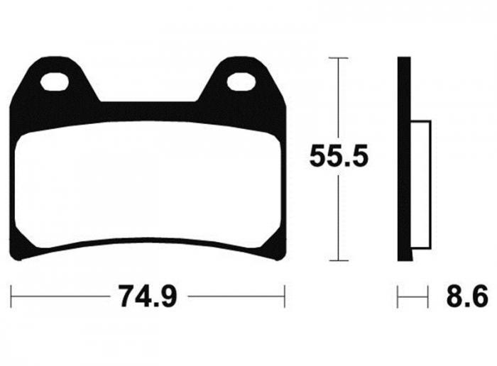 Acheter Plaquettes de frein Avant Bendix MF206
