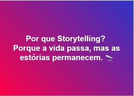 por que storytelling