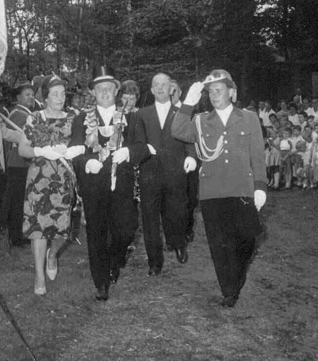 1964: Friedhelm Gerpheide und Martha Koch