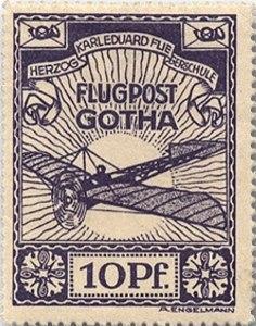 Briefmarke_Flugpost_Gotha_1912