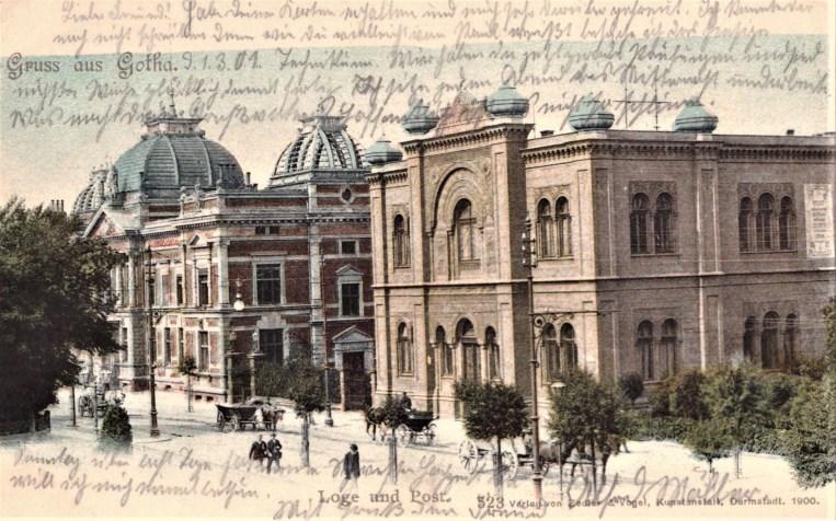 Nr. 8: 1901, Loge und Post, Verlag Zedler & Vogel, Darmstadt, 1900