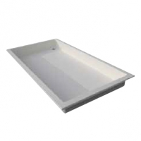 Vaschetta lava piedi per piscina con passaggio disabili 214 x 116  BSVillagecom