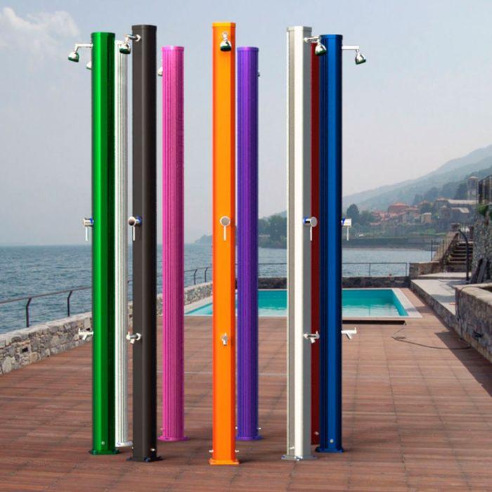Doccia per piscina in alluminio JOLLY S miscelatore e