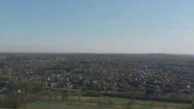 Photo of 250 m ponad chodnikami  #dron  #katowice…