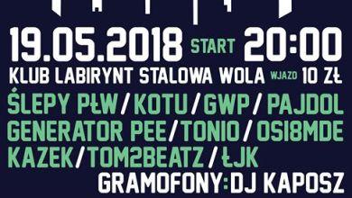 Photo of Koncert Stalowowolski RAP // 19.05.2018 // Klub Labirynt
