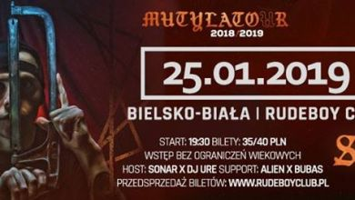 Photo of 25.01.19 Słoń x Mutylator x Bielsko-Biała x Rudeboy Club