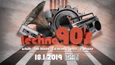 Photo of Techno 90's @Fabric 18-1-2019