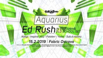 Photo of Aquarius D&B w/ Ed Rush (UK) @Fabric 15-2-2019
