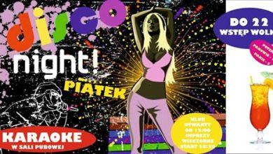 Photo of Piątkowe disco lat 70` & Karaoke – do 22:00 WSTĘP WOLNY
