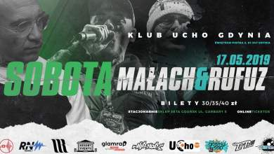 Photo of Kup bilet na Sobota x Małach & Rufuz – 17.05.2019 UCHO Gdynia w TicketOS