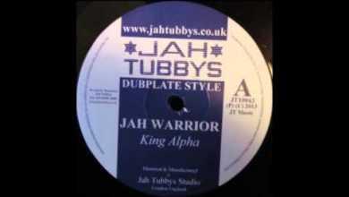 Photo of 10″ King Alpha – Jah Warrior + Dub