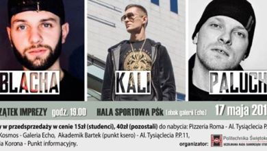Photo of Kali & Paluch & Blacha – Koncert Hiphopowy – Juwenalia 2019