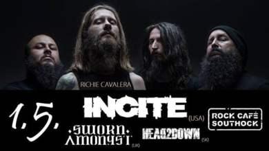 Photo of Incite with Richie Cavalera & Sworn Amongst & Head2down