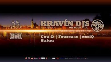 Photo of Kravín DJs on tour @Fabric 3-5-2019