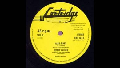 "Photo of 12"" George Allison – Hard Times (& Dub)"