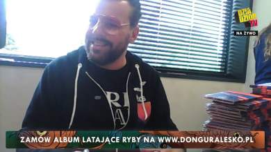 "Photo of donGURALesko podpisuje album ""LATAJĄCE RYBY"""