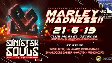 Photo of Marley Madness!! w/ Sinister Souls [NL] /4tune Warm-up /2x Stage