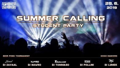 Photo of Summer Calling Student Party ╠ Fabric Ostrava ╣ 28/06/2019