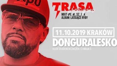 Photo of DonGURALesko w Krakowie! Premiera mixtape+Latające Ryby