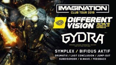 Photo of Different Vision w/ Gydra (Imagination Club Tour)