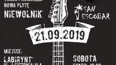 Photo of Koncert 33 Trzysta I Pogoria I San Escobar