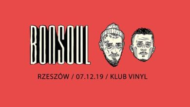 Photo of Bonson x Soulpete – BonSoul w Rzeszowie // 07.12 // Klub Vinyl