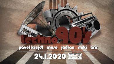 Photo of Techno 90s @Fabric 24-1-2020