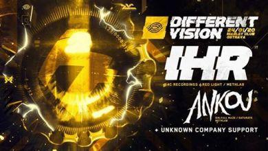 Photo of Different Vision w/ Inward, Hanzo & Randie