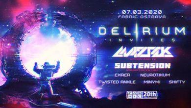 Photo of Delirium Invites Maztek & Subtension